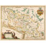 Silesia. Blaeu (W. J.). Silesia Ducatus A Martino Helwigio Nissence descriptus, 1650