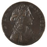 * Medal. Rome. Dido, Queen of Carthage, AE Medal by Alessandro Cesati