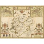 Rutland. Speed (John), Rutlandshire with Oukham and Stanford ..., 1611