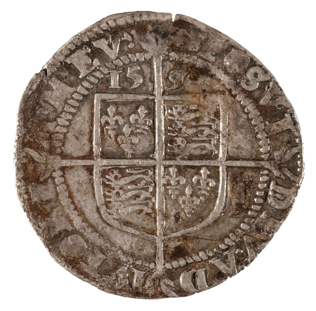 * Coin. Great Britain. Elizabeth I, Sixpence - Image 2 of 2