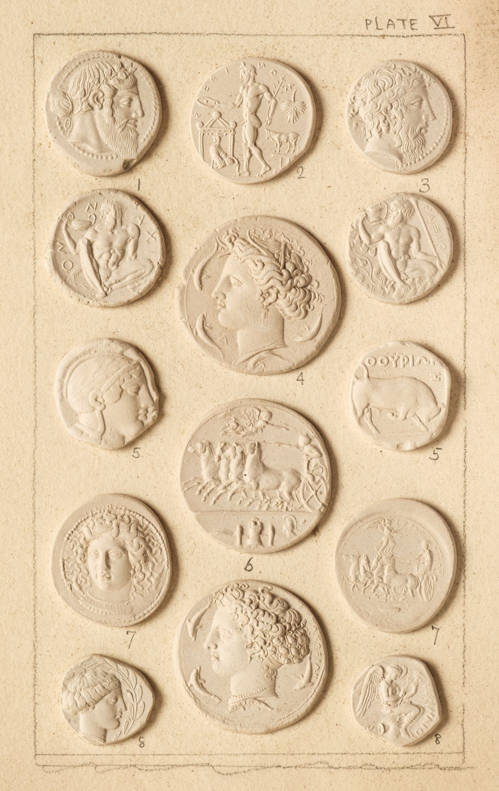 * Intaglios, illustrative of Greek history a Handbook of Greek and Roman Coins, by G.F. Hill, 1899