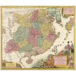 China. Lotter (Tobias Conrad), Opulentissimum Sinarum Imperium..., circa 1760