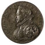 * Medla. Vincenzo I Gonzaga, Lead-Alloy Medal, circa 16th-17th century