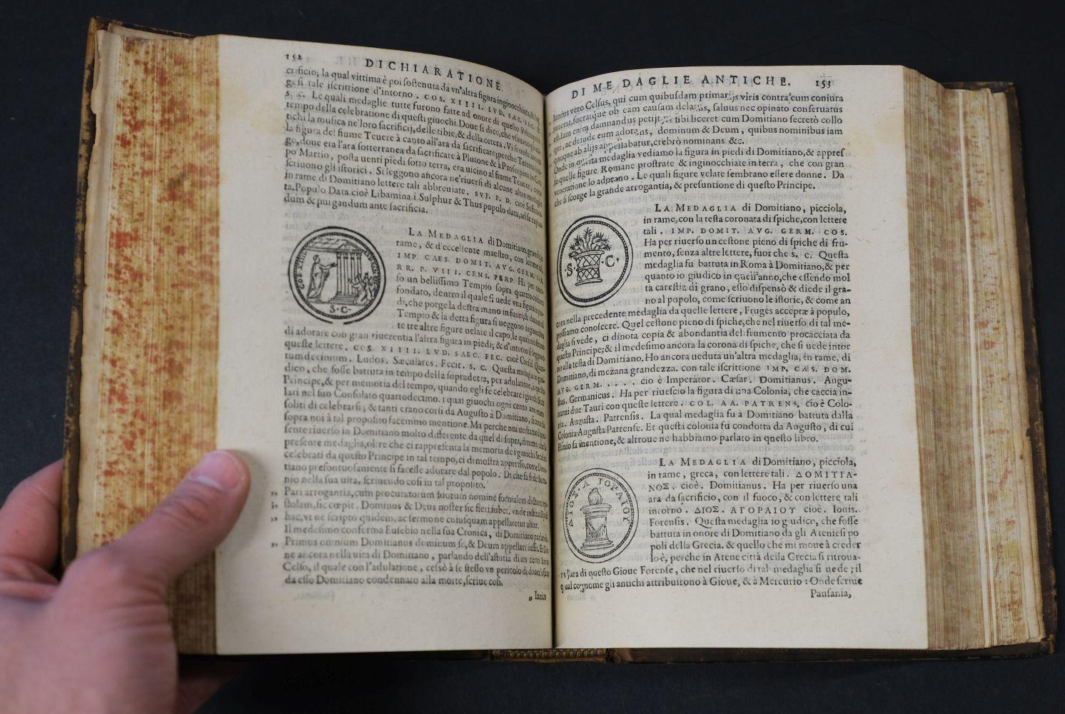 Erizzo (Sebastiano). Discorso sopra le medaglie, 4th edition, 1584, ex libris Fletcher of Saltoun - Image 10 of 11