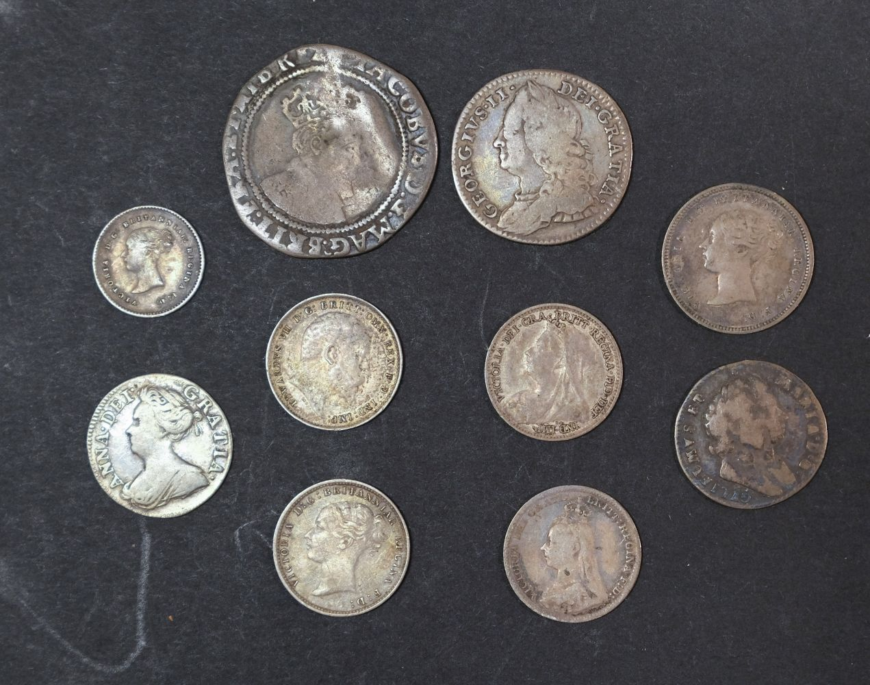 * Coins. Great Britain. Various
