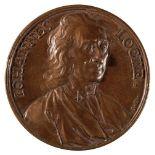 * Medals. John Locke by Dassier, etc (3)