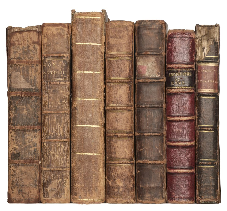 Kennett (Basil). Romae antiquae notitia, 5th edition, 1713, & 5 other copies