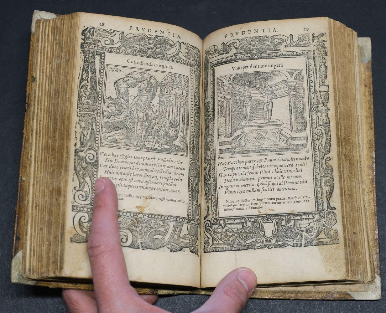 Sambucus (Joannes). Emblemata, Antwerp: Christopher Plantin, 1564 - Image 10 of 11