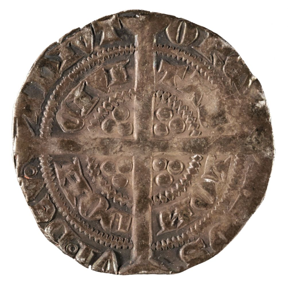 * Coin. Great Britain. Edward III, 1327-77, Halfgroat - Image 2 of 2