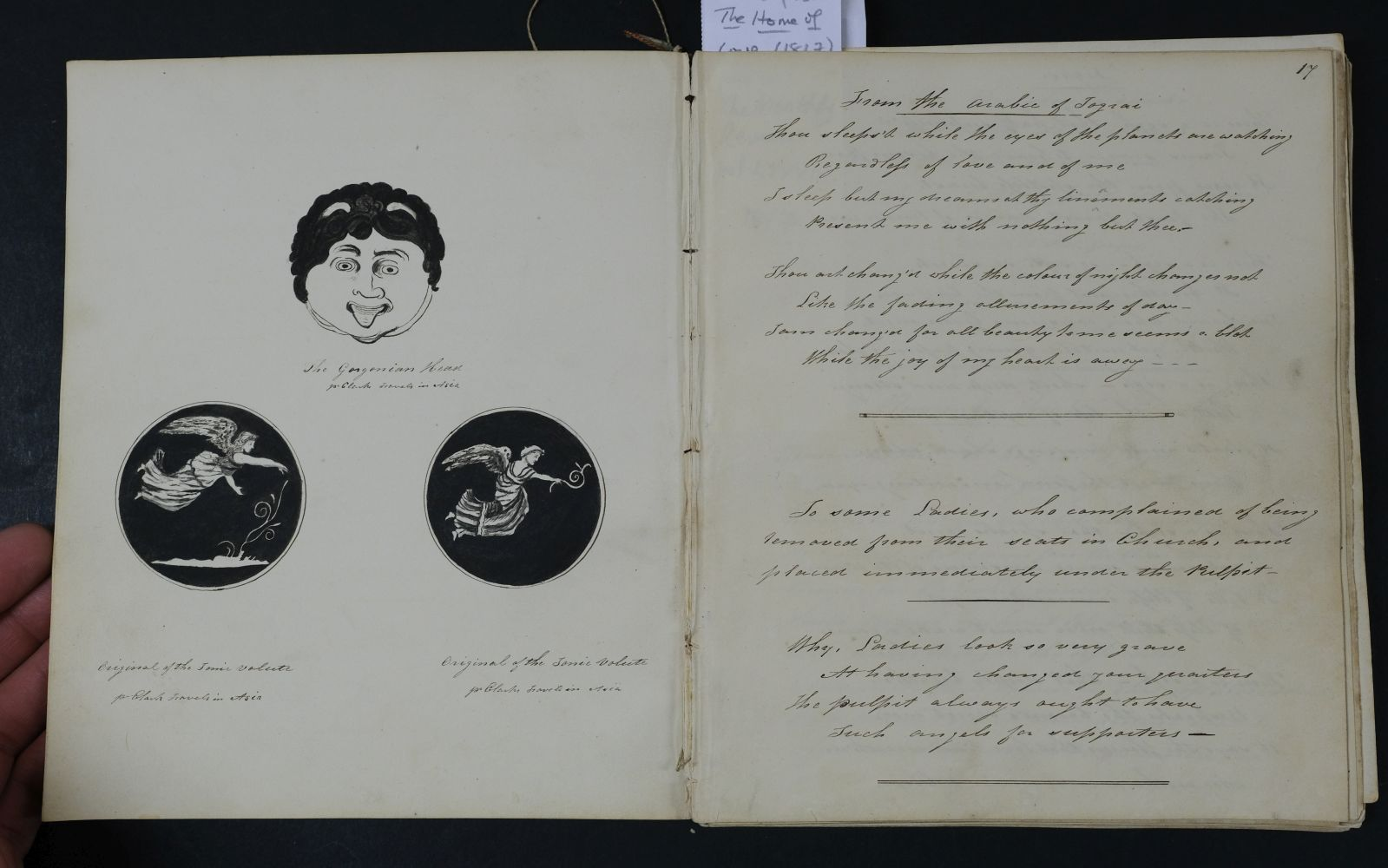 Albums. A pair of early 19th century albums, and one other - Image 11 of 15