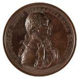 * Medal. Admiral Richard Howe (1725-1799). Copper Medal, 1794