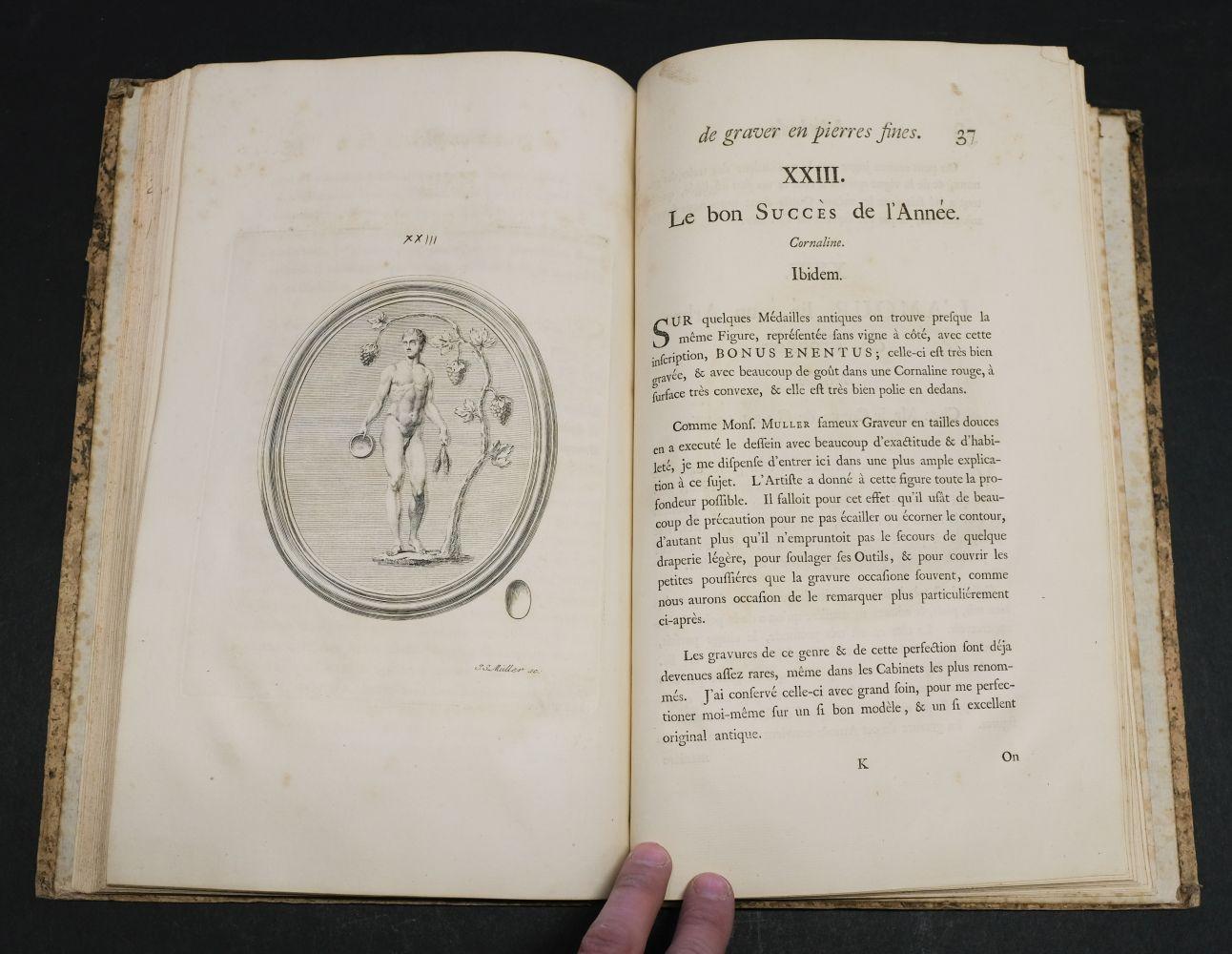 Natter (Johann Lorenz). Traite de la Methode Antique, 1754 - Image 6 of 7
