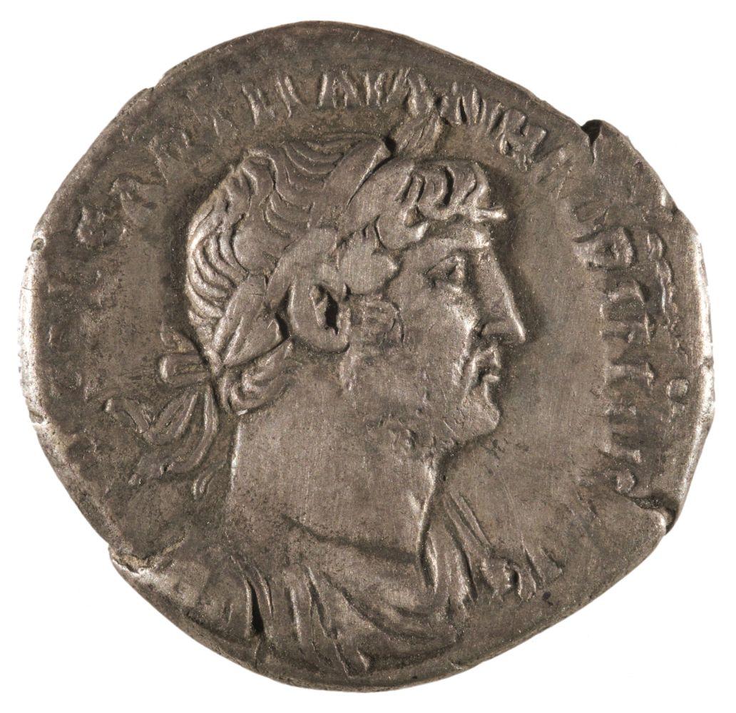 * Coins. Roman Empire. Hadrian (117-138 A.D.), Denarius