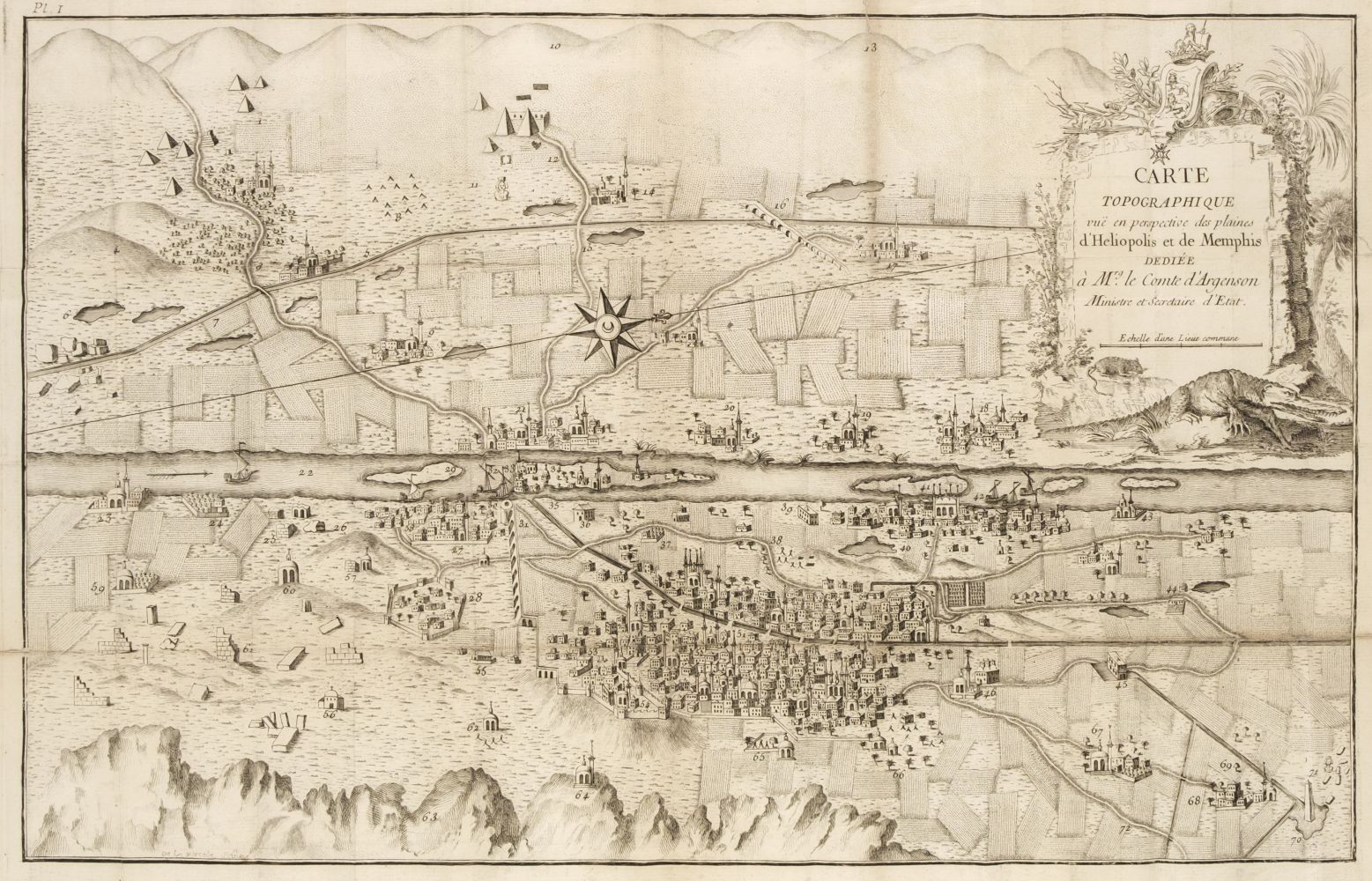 Fourmont (Claude Louis). Description Historique