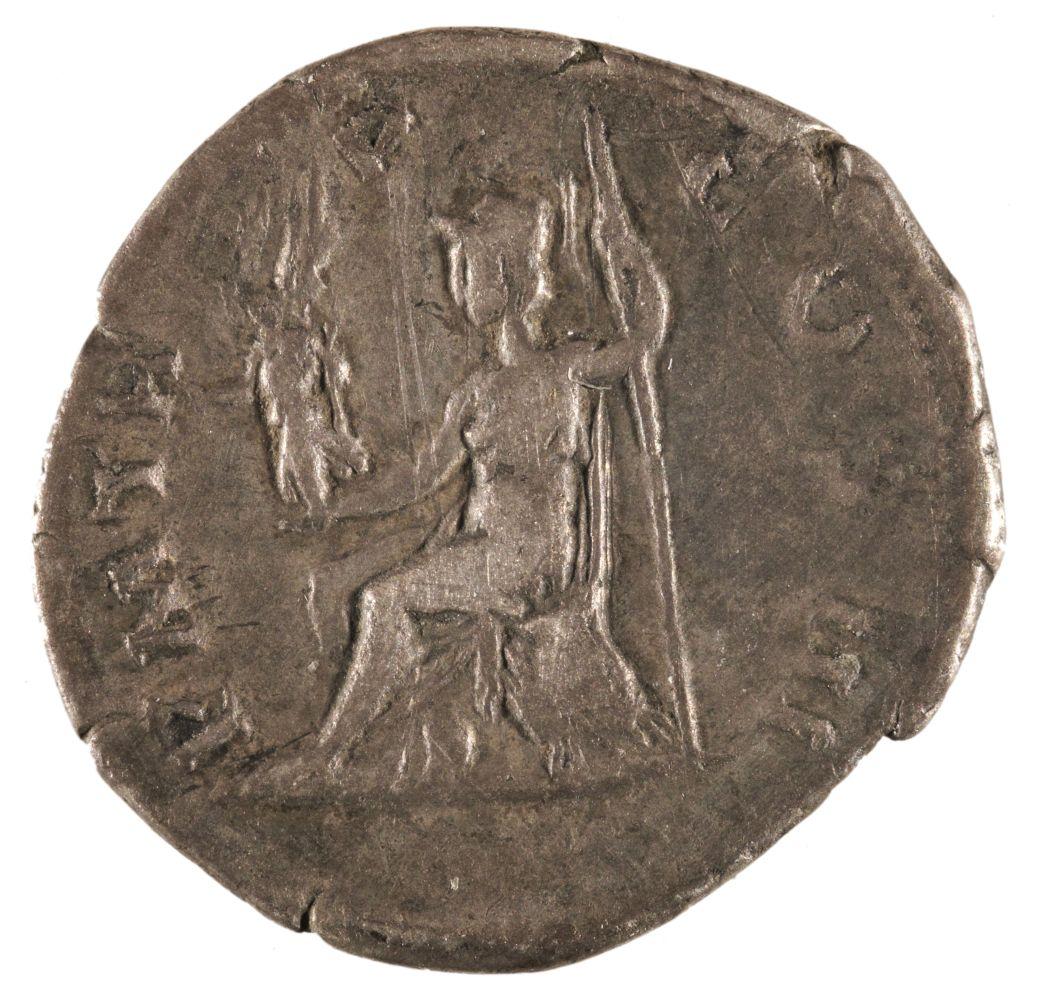 * Coins. Roman Empire. Hadrian (117-138 A.D.), Denarius - Image 2 of 2
