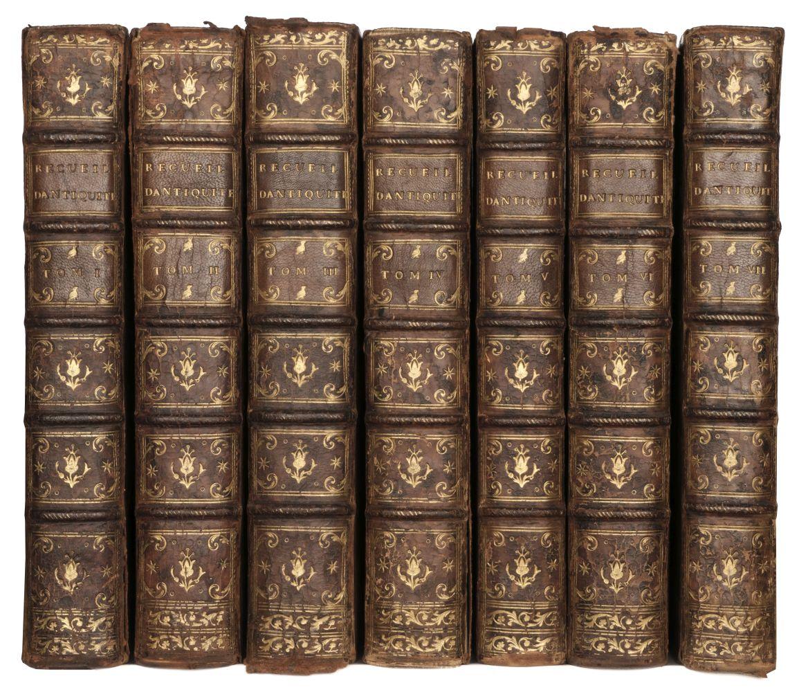 Caylus (Anne Claude Philippe, comte de). Recueil d'Antiquites, 7 volumes, 1756-67 - Image 2 of 2