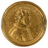* Medal. Francois II of Lorraine and Christina of Salm, Gilt Bronze Medal