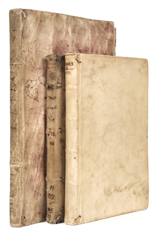 Tournes (Jean de). Insignium aliquot virorum icones, 1st edition, 1559, & 2 others