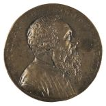 * Medal. Tommaso Rangone (1493-1577). Cast bronze medal, 1562 or later