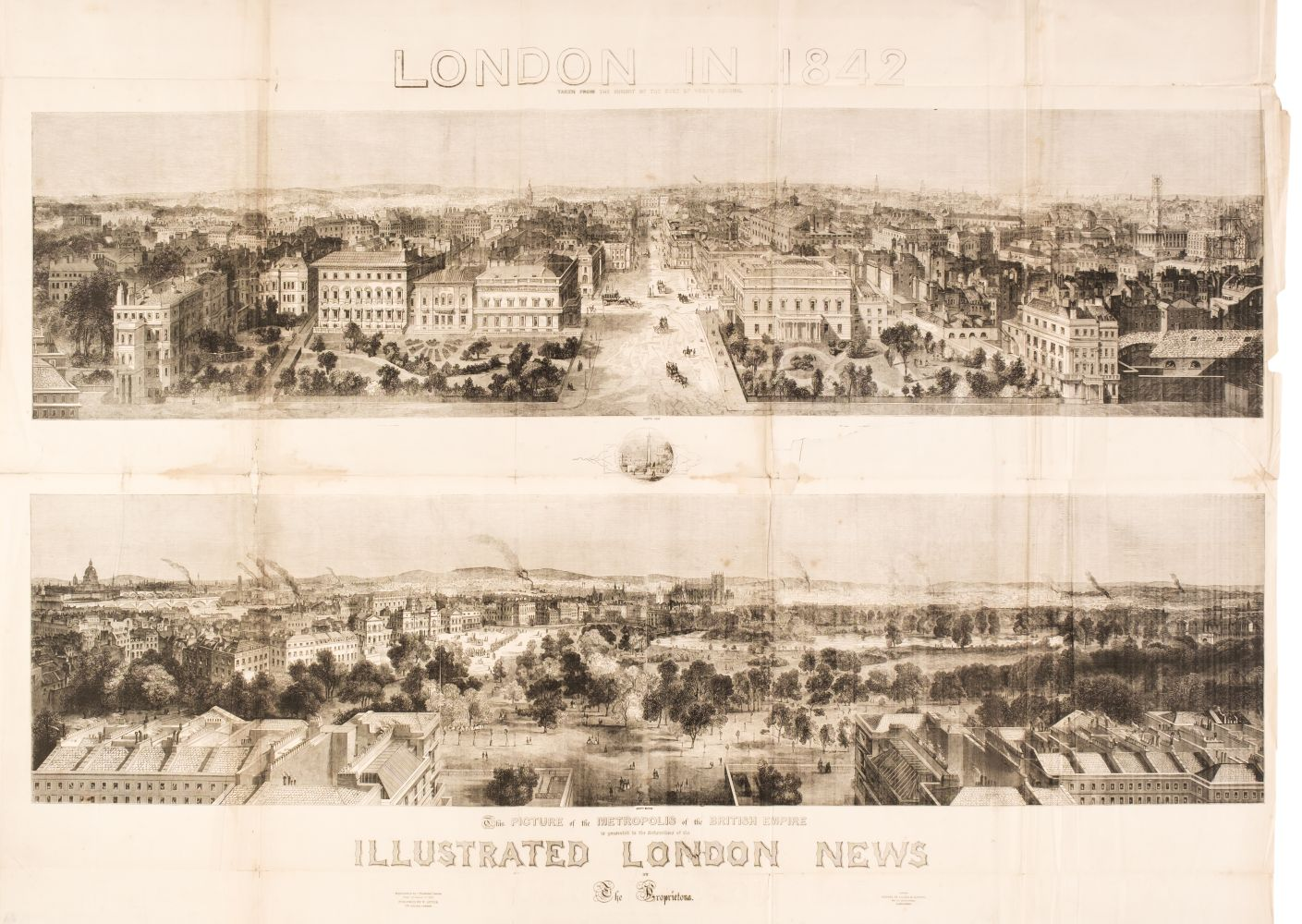 London. Illustrated London News (publisher), London in 1842,