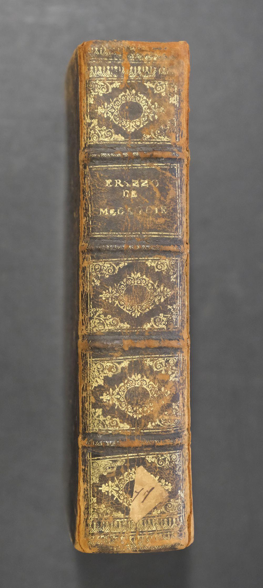 Erizzo (Sebastiano). Discorso sopra le medaglie, 4th edition, 1584, ex libris Fletcher of Saltoun - Image 3 of 11