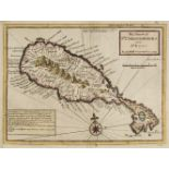 West Indies. Moll (Herman), The Island of St Christophers alias St Kitts, 1729
