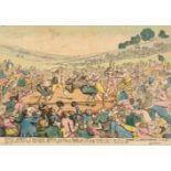 * Rowlandson (Thomas). Rural Sports. A Milling Match..., Thomas Tegg, 1811