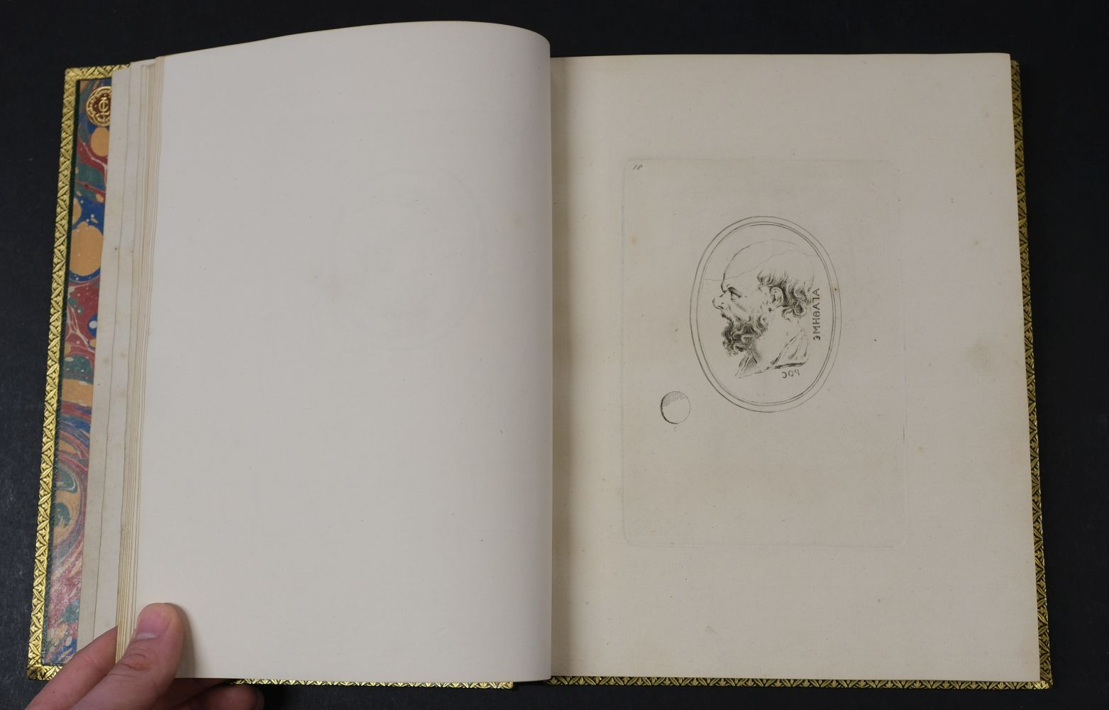Devonshire Gems. Duke of Devonshire's Collection of Gems, privately printed, circa 1790 - Image 12 of 16