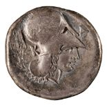 * Coin. Ancient Greece. Corinth, 5th-4th century BC
