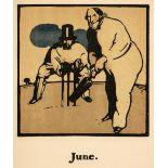 Nicholson (William). Almanac of Twelve Sports, 1898