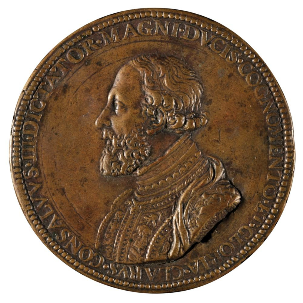 * Uniface Medal by Annibale, circa 1550s