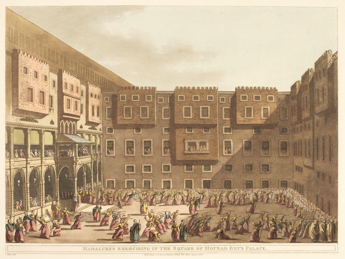 * Mayer (Luigi). A collection of 22 plates of Egypt, 1802-03
