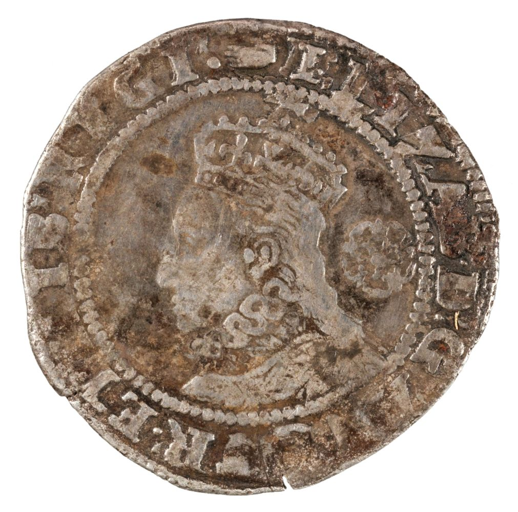 * Coin. Great Britain. Elizabeth I, Sixpence