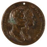 * Medal. Virginio Cesarini (1595-1624) and Giovanni Pico Della Mirandola (1463-94), circa 17th