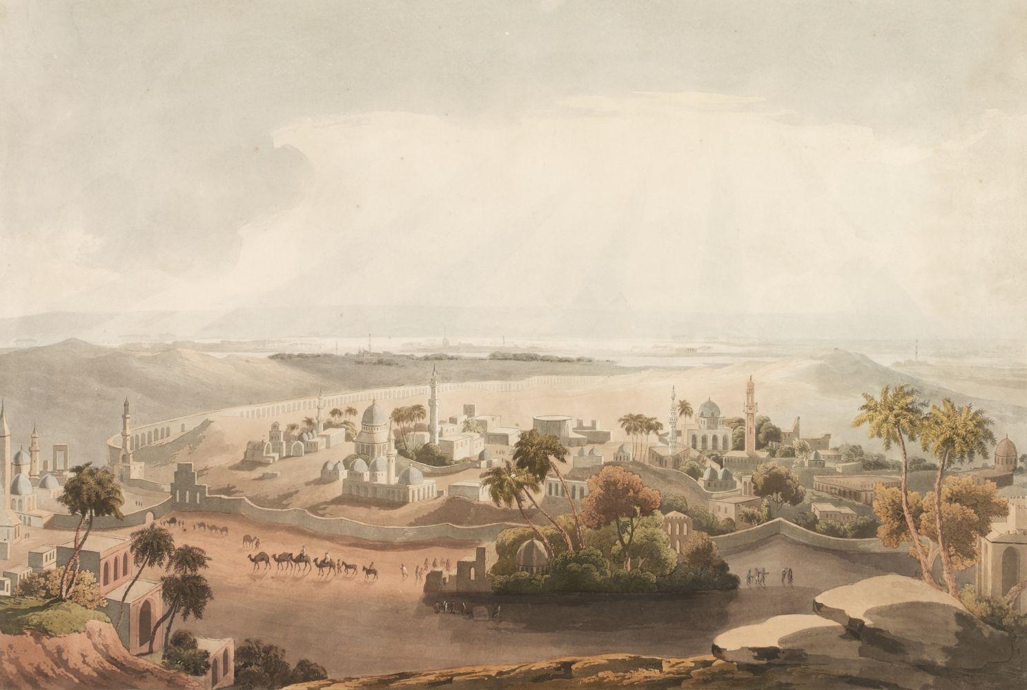 * Salt (Henry, 1780-1827) The Pyramids at Cairo, 1809