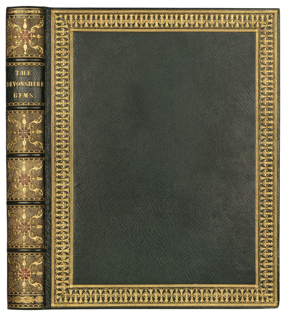 Devonshire Gems. Duke of Devonshire's Collection of Gems, privately printed, circa 1790 - Image 4 of 16