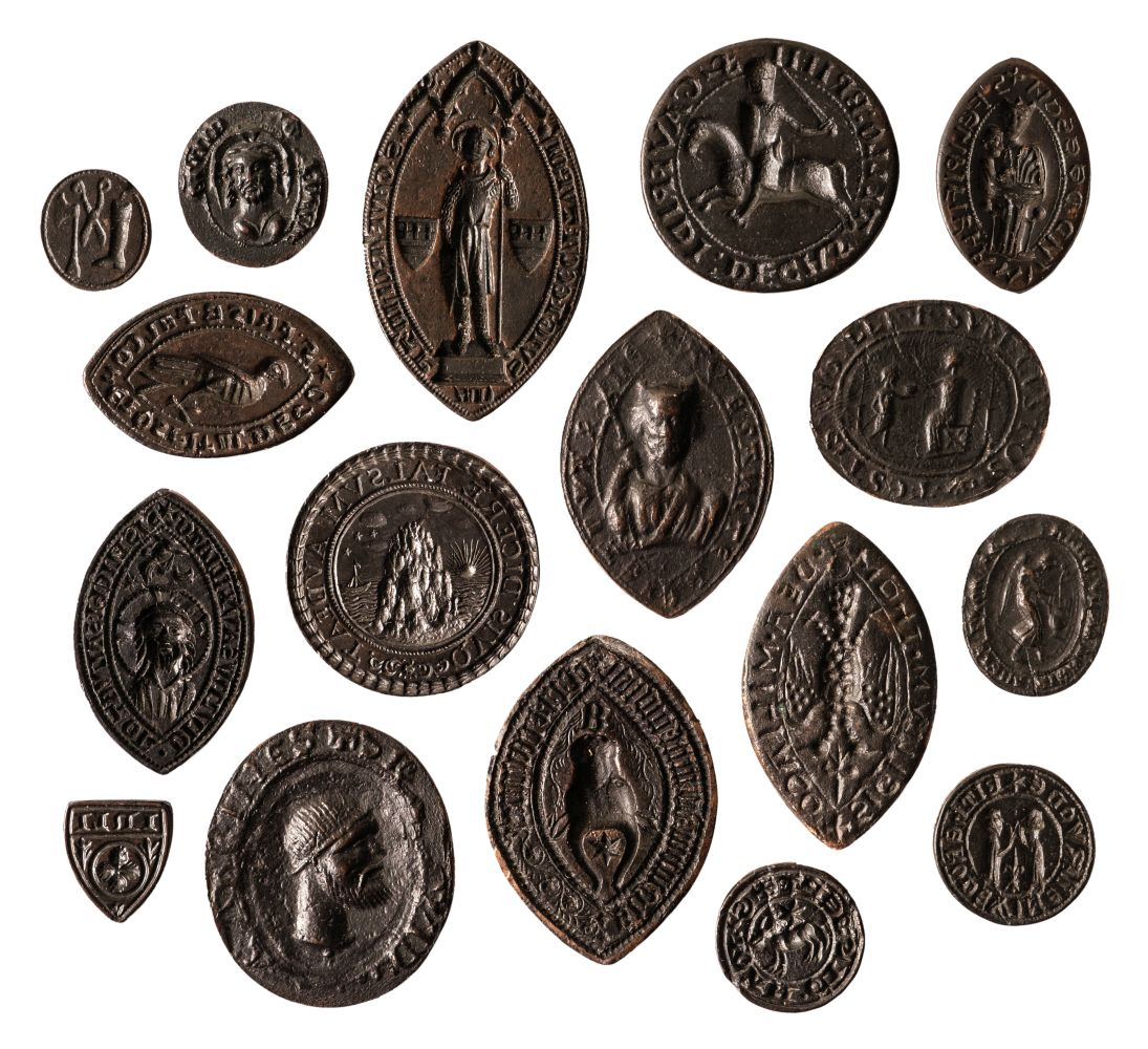 * Electrotype Vesica and other Seals. - Image 2 of 2