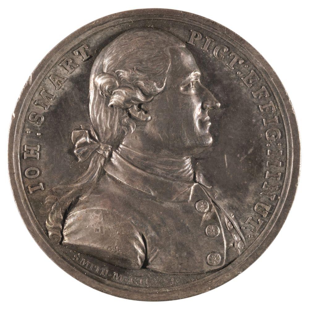 * Medal. John Smart (1741-1811). Uniface AR Medal