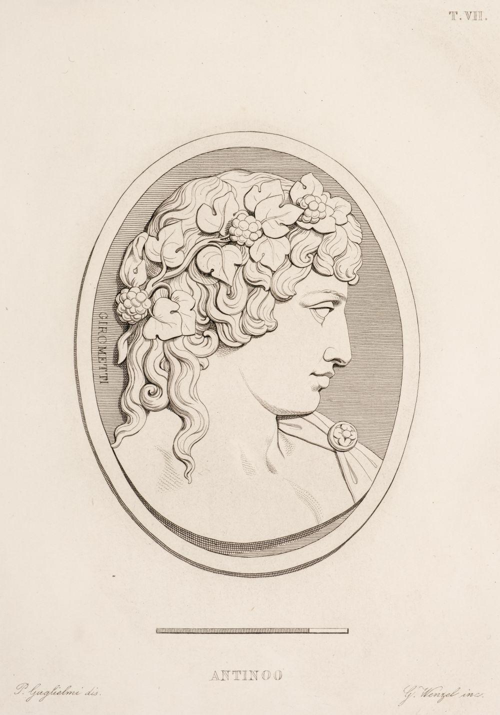 Girometti (Giuseppe). Gemme incise dal cavaliere Giuseppe Girometti..., 1836