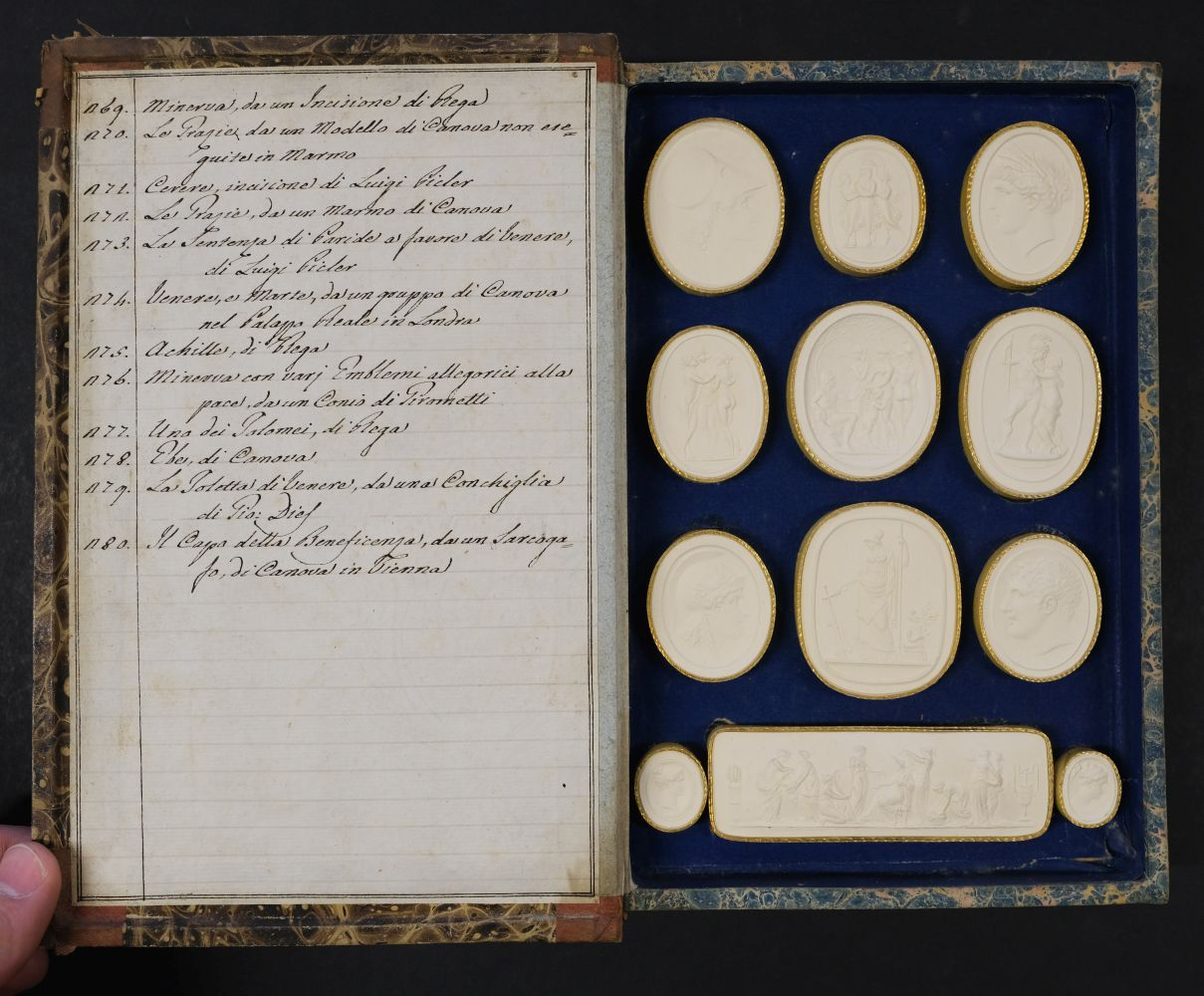 Paoletti (Bartolomeo and Pietro). A collection of 300 plaster cameos, 1820 - Image 16 of 16