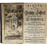 Bible [German]. Biblia, das ist: die ganze Heilige Schrift Alten und Neuen Testamentes, Basel, 1768