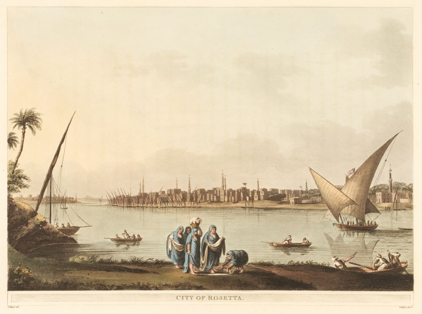 * Mayer (Luigi). A collection of 22 plates of Egypt, 1802-03 - Image 2 of 2