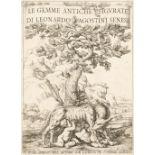 Agostini (Leonardo). Le gemme antiche figurate, 2 volumes, 2nd ed., Rome, 1686