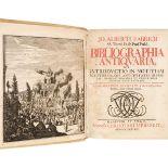 Fabricius (Johann Albert). Bibliographia Antiquaria, 1713