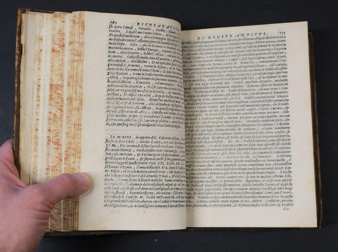 Erizzo (Sebastiano). Discorso sopra le medaglie, 4th edition, 1584, ex libris Fletcher of Saltoun - Image 9 of 11