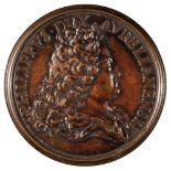 * Medals. France. Philip II (1674-1723), Bronzed Copper Medal, 1715, etc