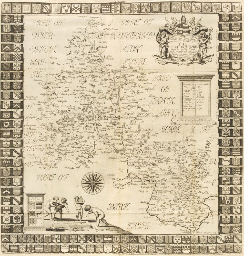 Plot (Robert). The Natural History of Oxfordshire, 1677