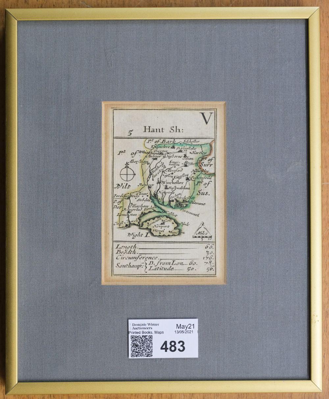 * Hampshire. Morden (Robert), Hant Sh: V, H. Turpin, circa 1750 - Image 2 of 2
