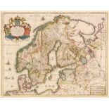 Scandinavia. Blaeu (W. J.), Suecia, Dania, et Norvegia, Regna Europae..., circa 1640