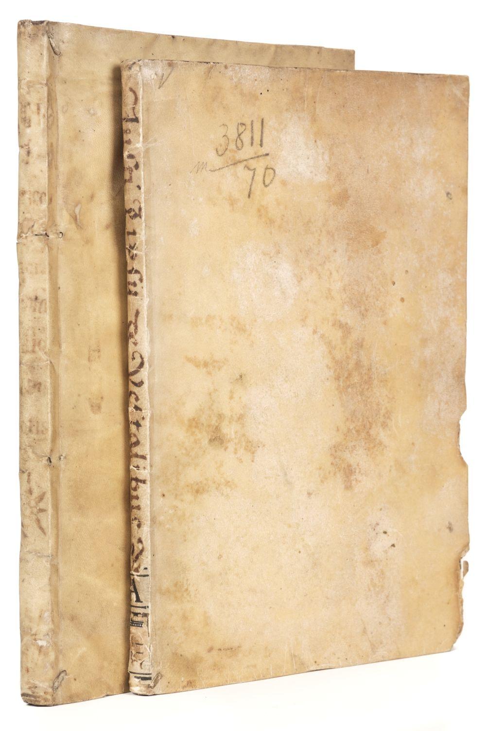 Lipsius (Justus). De cruce libri tres [and] De vesta et vestalibus, Antwerp: Plantin, 1599 & 1609